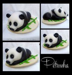 panda 3D cake