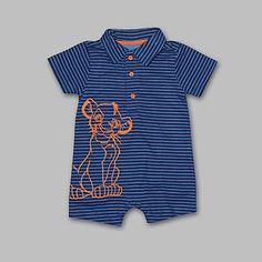 Disney Baby Lion King Infant Boy's Polo Bodysuit - Simba