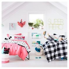 Trendy Kids Room Ideas For Girls Pink Shared Bedrooms Boy And Girl Shared Room, Boy Girl Room, Girl Rooms, Casa Kids, Sister Room, Brother Sister, Br House, Shared Bedrooms, Kid Bedrooms
