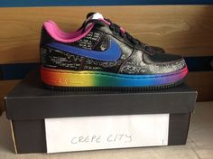 Nike Air Force One 1 Busy P/Ed Banger collaboration, so probably all So Me