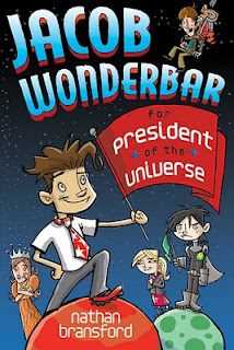 Hold onto your space helmets! Jacob Wonderbar for President of the Universe comes out today. Repinned for a chance to win an e-reader http://bit.ly/HDEYz8