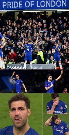 05/01/2019 - Cesc Fabregas says goodbye to Chelsea and English Football as he plays his farewell match for the club.