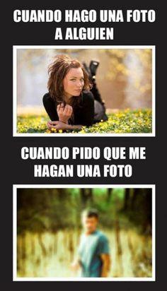 Cuando hago una foto a alguien. #humor #risa #graciosas #chistosas #divertidas