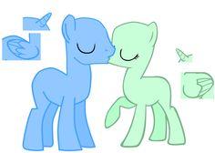 my little pony kiss base | Go Back > Gallery For > Mlp Kiss Base
