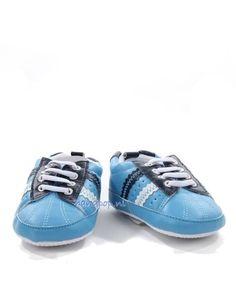 Living Puppets Blauwe schoenen voor grote menspop - Handpoppen.nl