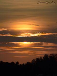 Swansea Sunset Australia.