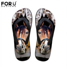 >> Click to Buy << New 2016 Fashion Men Rubber Flip Flops Crazy Horse Animal Printed Sandals Casual Outdoor Summer Shoes Footwear Man Home Slippers #Affiliate