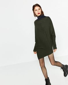 ZARA - WOMAN - OVERSIZED SWEATER