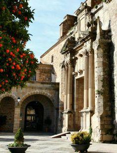 Iglesia del Convento de San Vicente Ferrer en Plasencia en Extremadura  Spain