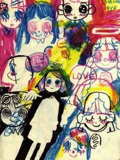 "robbiegeez:""trying out new things :o)"" Grunge Art, Character Art, Cute Art, Illustration Art, Art, Art Reference, Collage Art, Art Journal, Pretty Art"