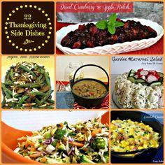 22 Thanksgiving Side Dishes! #thanksgiving #sidedish