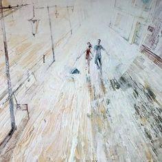 """Спасибо вам за отклики по названию в instagram  и Вконтакте теперь картина обрела  название: """" Этот день"""" #Painting by #NataliyaKonovalova  #art #artist #knifepainting #picture #instaart #artfinder #today #instadaily #artgallery #artwork #17komnat"""