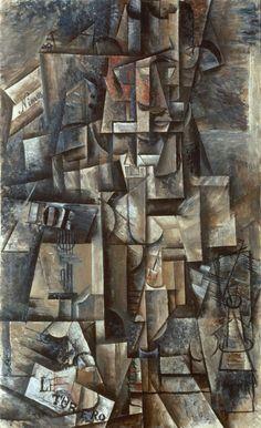 Picasso, The Aficionado, 1912