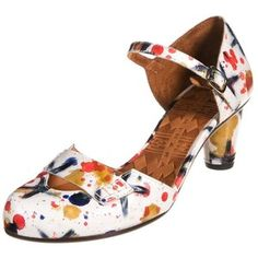 Chie Mihara PERET Classic heels weiss/multicolor