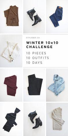 Style Bee - Winter 10 x 10 Challenge