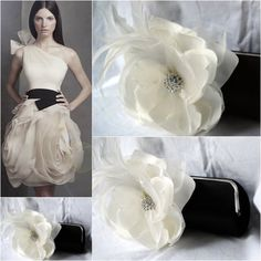 Evening Bag  Black Tie Formal Clutch  Bridesmaid by bellafiore2009. , via Etsy.