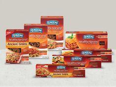 Ronzoni® Healthy Harvest®.100% Whole Grain. 100% Delicious.