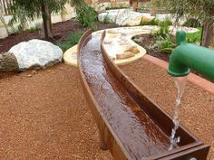 Buggles Child Care Centre - Butler July 2014 #natureplaysolutions #naturalplayspace #naturalplayground