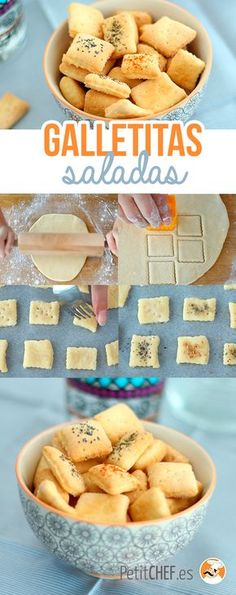 Biscuits apéritif faits maison, Recette Ptitchef - Expolore the best and the special ideas about Budget freezer meals Gourmet Recipes, Appetizer Recipes, Cooking Recipes, Healthy Recipes, Tapas, Budget Freezer Meals, Good Food, Yummy Food, Salty Foods