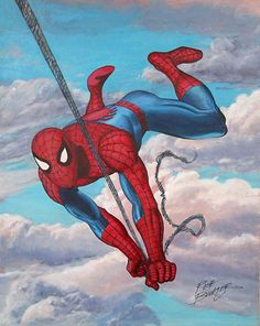 #Spiderman #Fan #Art. (Classic Spider-Man) By: Rich Buckler. (THE * 5 * STÅR * ÅWARD * OF: * AW YEAH, IT'S MAJOR ÅWESOMENESS!!!™)[THANK Ü 4 PINNING!!!<·><]<©>ÅÅÅ+(OB4E)