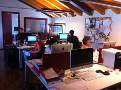 We @ work | More @ www.mocainteractive.com  #office #work