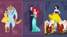 Artist Kathyrn Hudson imagines what it would be like if some of your favorite Disney characters went to the high school dance. Description from scanvine.com. I searched for this on bing.com/images