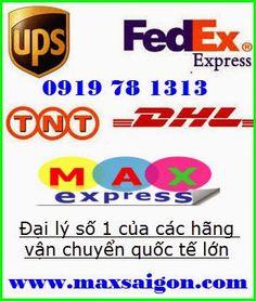Dịch vụ vận chuyển phát nhanh hàng hóa quốc tế DHL, UPS, TNT, Fedex giá rẻ uy tín ở TPHCM | Chuyển Phát Nhanh MaxSaiGon