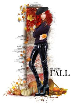 """All things Fall"" by ultracake ❤ liked on Polyvore featuring art, Fall, dolls and autumn2015"