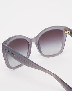 d035e5f013 Dolce & Gabbana Oversized Sunglasses at asos.com. Gafas De Sol ...