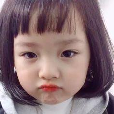 2 years old Cute Asian Babies, Korean Babies, Asian Kids, Cute Baby Meme, Cute Funny Babies, Cute Kids, Cute Baby Girl Pictures, Baby Girl Images, Cute Little Baby