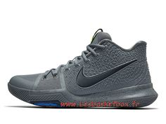 wholesale dealer 8477f e8801 Chausport Basket Nike Kyrie 3 Midnight Grey 852395-001 Officiel Nike pour  Homme - 1707131076