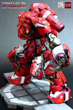 Custom Build: MG 1/100 Z'Gok (Space Type Char's Custom) - Gundam Kits Collection News and Reviews