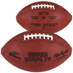 Super Bowl IV Wilson Official Game Football