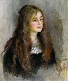 Pierre-Auguste Renoir, Portrait de Julie Manet, 1894, Paris, musée Marmottan Monet © Musée Marmottan Monet, Paris / The Bridgeman Art Library