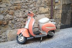 Have you tried touring Italy in this classic Italian invention: the Vespa Scooter?