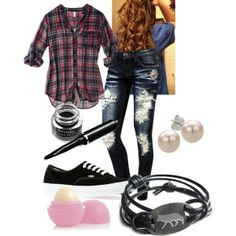 """""""The Teen Scene Outfit 1"""" by emoshady on Polyvore"""