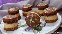 Konyha Naplóm: Tricolor szelet Latte, Cheesecake, Food, Cheesecakes, Essen, Meals, Yemek, Cherry Cheesecake Shooters, Eten