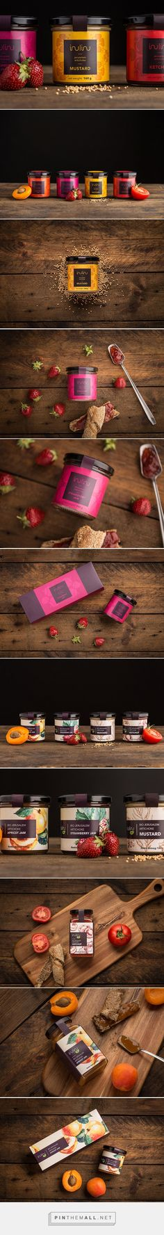 INULINU - mustards, ketchups and jams / design by DekoRatio Branding & Design Studio, Flora Seres, Ágnes Beke