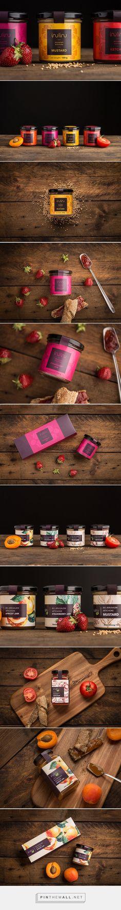 INULINU - mustards, ketchups and jams / design by DekoRatio Branding & Design Studio, Flora Seres, Ágnes Beke