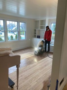 How to refinish your wood floors with whitewash stain | Nesting with Grace | In our home remodel, we wanted to refresh our original hardwood by sanding, stripping and applying a bleached white stain! #flooring #hardwoods