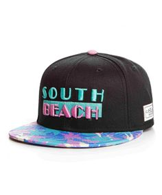 Cayler & Sons South Beach snapback cap