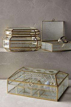 FIRST FROST JEWELRY BOX #anthrofave #anthropologie
