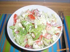 Šalát s cottage cheesom Bon Appetit, Potato Salad, Potatoes, Ethnic Recipes, Food, Potato, Essen, Meals, Yemek