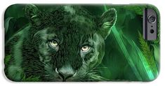 Black Panther - Spirit Of Rebirth phone case  featuring the art of Carol Cavalaris. Big Cats Art, Cat Art, Wolf, South America Map, Black Panther Art, Art Phone Cases, Iphone Case, Large Beach Towels, Canvas Art