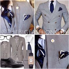 |#TheBigFashionGuy|  The key is to get inspired and make it your own.  #FashionFriday #Padgram