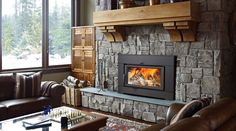 CI2600 Large Hybrid Catalytic Wood Insert - Wood Fireplace Inserts - Regency Fireplace Products