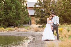 Sunset photos in Bend Oregon Wedding photographer at Wallace Ranch by TréCreative Film&Photo http://trecreative.com/