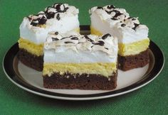 Cake Bars, Nutella, Oreo, Cheesecake, Dessert Recipes, Food And Drink, Sweets, Cookies, Google