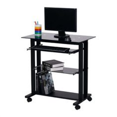 Computer Desks Furniture Staples Cart Desk Wheels Black With Dimensions 1030 X Rolling If You Are Likely To Use Your