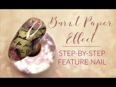 This week I'll be attempting a vintage burnt paper effect nail with floral accents & a sprinkle of sparkle. Gothic Makeup Tutorial, Burnt Paper, Vintage Nails, Glitter Pigment, Glam Makeup, Nail Artist, Art Tutorials, Fun Nails, Sprinkles